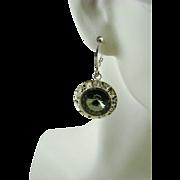 Swarovski Black Diamond Crystal Earrings