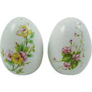 Lefton Floral Porcelain Salt & Pepper Shakers