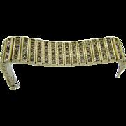 1920's Sterling Art Deco Evening Bracelet by Leach & Miller