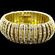 B&W, Butler & Wilson Stunning Rhinestone Evening Bracelet
