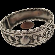 1885 Sterling Silver Cuff Bracelet