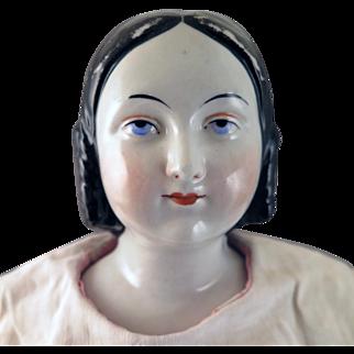 1850s-60s Conta Boehme Sophia Smith China Doll 23 inches