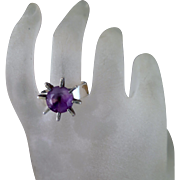 MCM Sterling Silver Finnish Amethyst Ring
