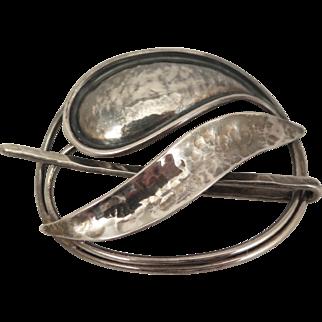 1970s Hair Stick Pin by Designer Jacob Hull