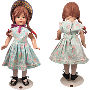 Effanbee Little Lady Composition Doll 18 inch