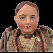 Belgian De Fuisseaux Doll in Regional Costume 8.5 inch