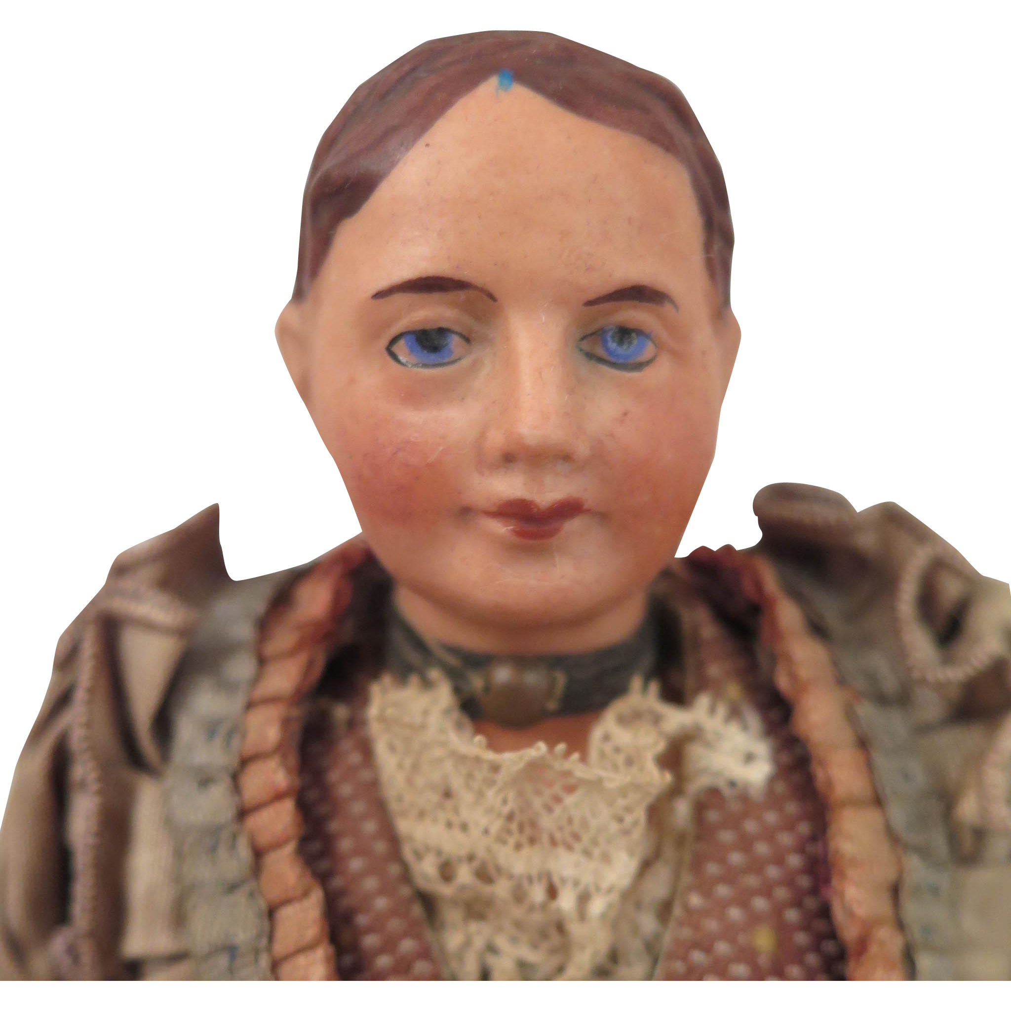 Belgian Doll in Regional Costume 8.5 inch