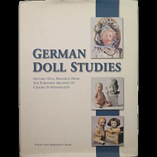 Cieslik German Doll Studies Reference Book