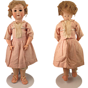 Goebel Bavaria German Bisque Doll on Ball Jointed Body 21 inch