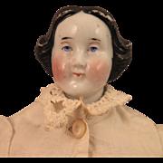 Antique German China Doll Dora 10 inch