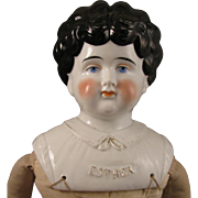 1899-1902 Pet Name China Head Doll Esther 21 inch