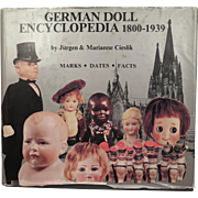 German Doll Encyclopedia by Cieslik