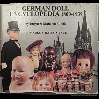 German Doll Encyclopedia by Cieslik