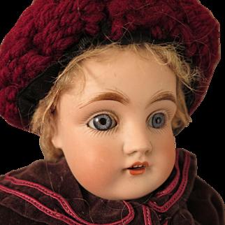 Antique German Kestner 154 Bisque Doll 15 inch