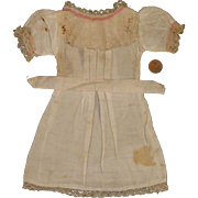 Early 1900s Original Factory Made Doll Dress for 14 inch Bisque Doll