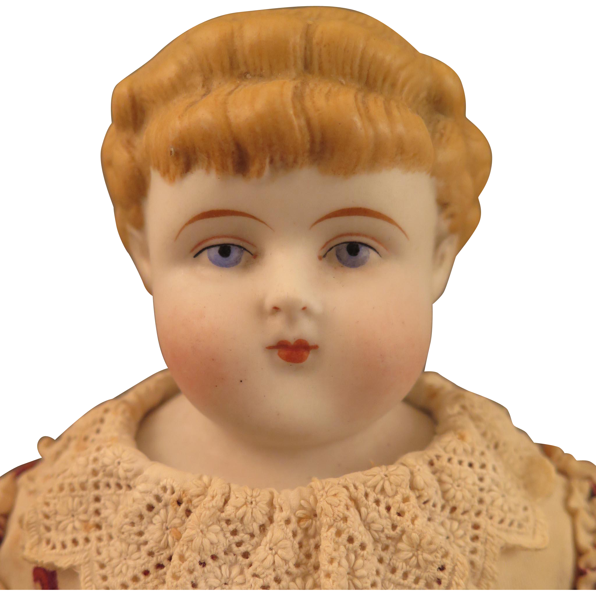 1880s ABG model 978 Blond Bisque Child Doll 15 inch