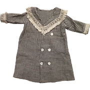 Early 1900s Coat for 22-14 inch Bisque Doll