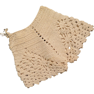 Vintage Crocheted Doll Bloomers