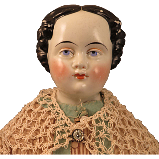 Antique Conta Boehme China Doll 22 inches