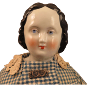 Antique German China Doll 14 inches