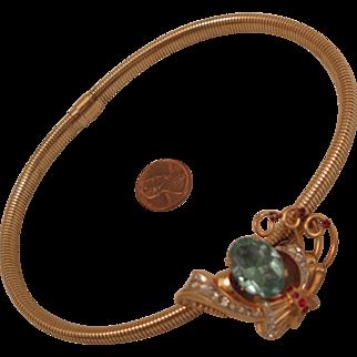 Vintage GF Necklace with Convertible Brooch