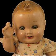 """c.1940 Freundlich Baby Sandy Composition Doll 11"""""""