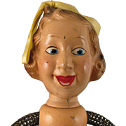 1930s Ideal Composition Fanny Brice Baby Snooks Doll