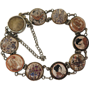 1920s Japanese Satsuma Bracelet