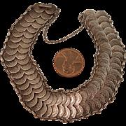 1950 Sterling Silver Coins Bracelet