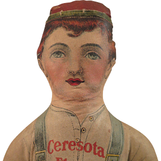 Ceresota Flour Cloth Advertising Boy Doll 15 inch