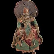 Early 1900s Queen Elizabeth Art Doll