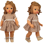 16 inch 1950-1961 HP Terri Lee Doll Plus Clothes