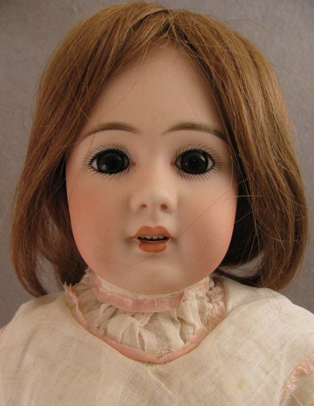 19 inch Simon and Halbig Model 939 Bisque Head Doll on Ball Jointed Body