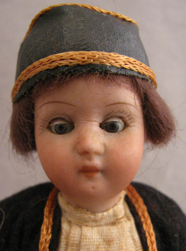 6 inch Heubach Koppelsdorf 250 Boy with Original Costume