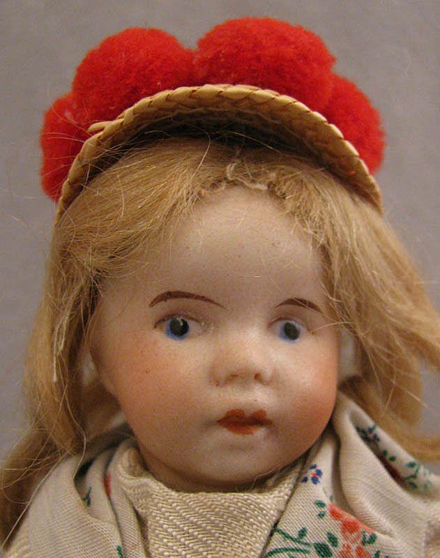 "7"" SFBJ Bisque Doll in Regional Costume"