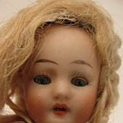 "5.5"" All Bisque Doll w/ Sleep Eyes & Original Clothing"