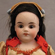 8 inch Belton Type Bisque Doll in Italian Regional Costume