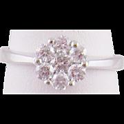 Superb Estate 18 Karat Gold  with .75 CARATS DIAMONDS Ring