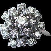 Kurt Wayne 1.06cts Diamond Waterfall Ring