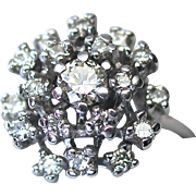 Kurt Wayne 1.06cts Diamond Waterfall Ring