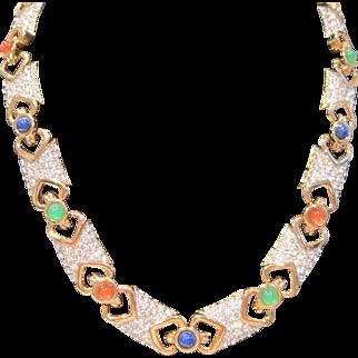 Vintage Pierre Balmain Paris Couture necklace