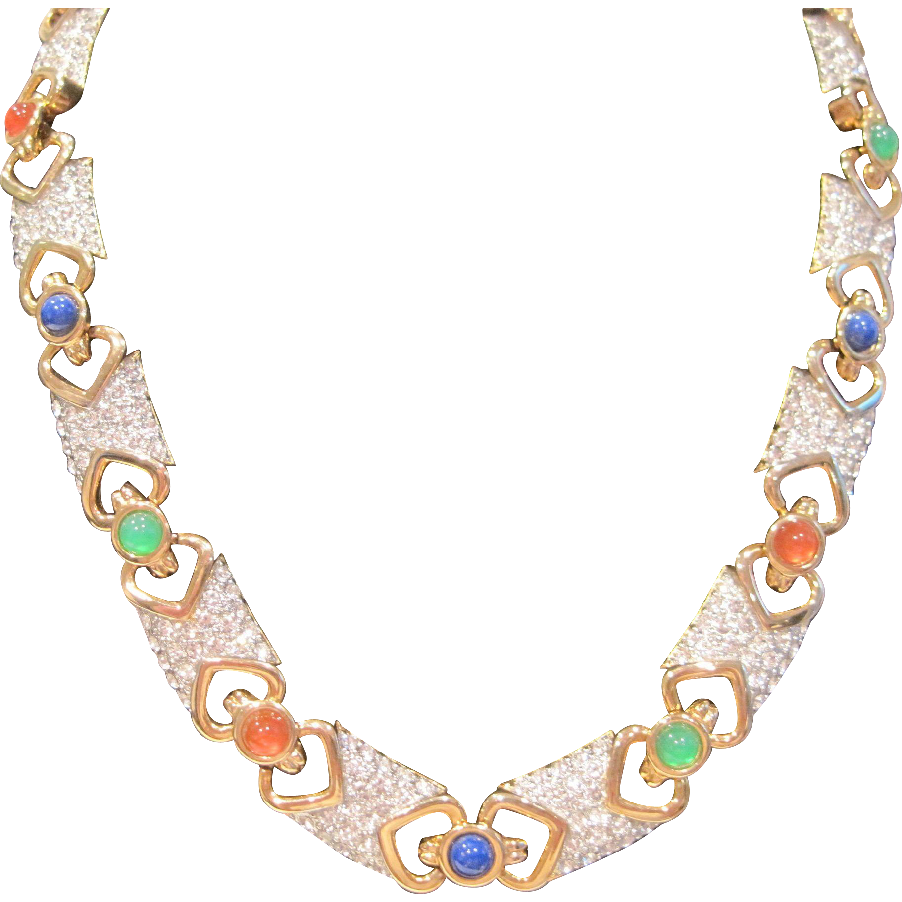 Vintage Pierre Balmain Paris Couture necklace