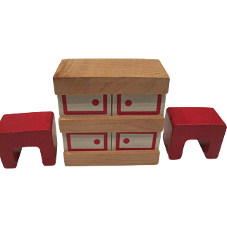 Vintage Creative Playthings doll house furniture