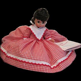 Vintage Madam Alexander doll Jo #407 from the Little Women series