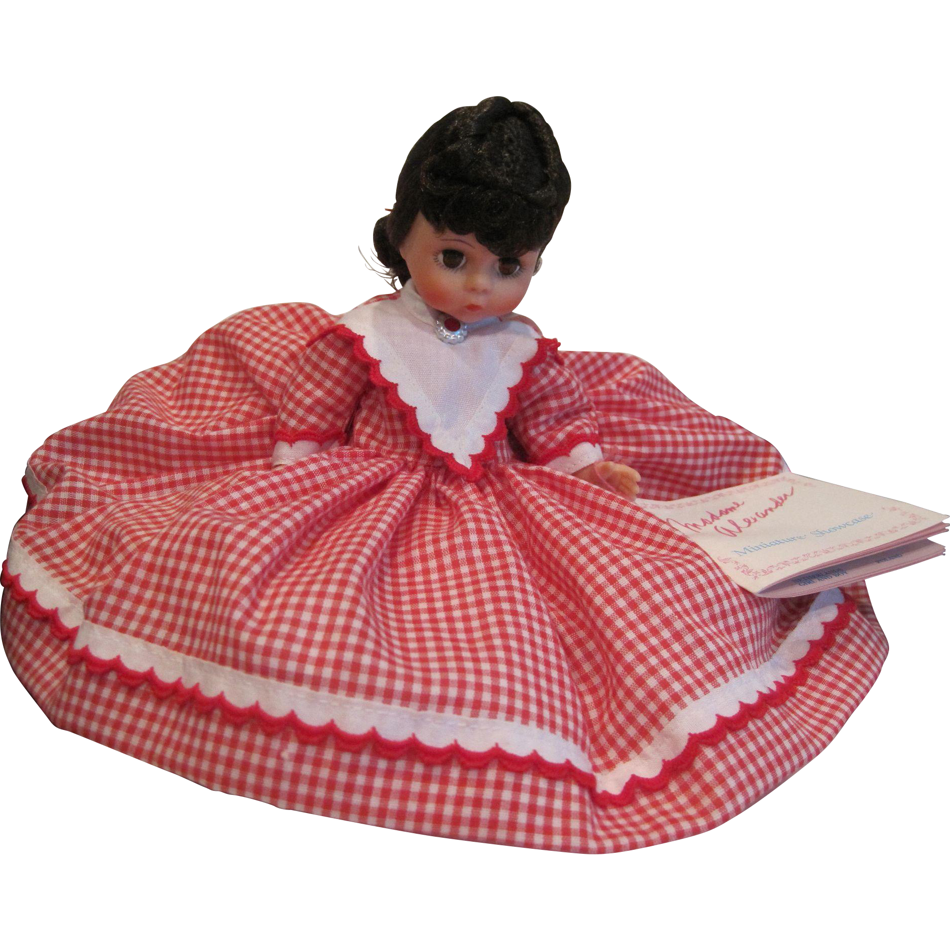 Vintage Madam Alexander doll Jo #407 from the Little Women series