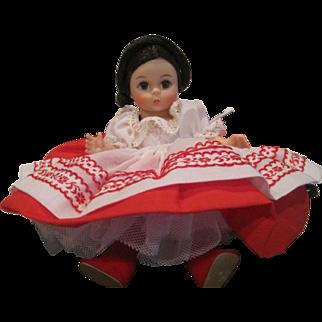 Vintage Madam Alexander miniature Russia 574 friends from foreign lands series