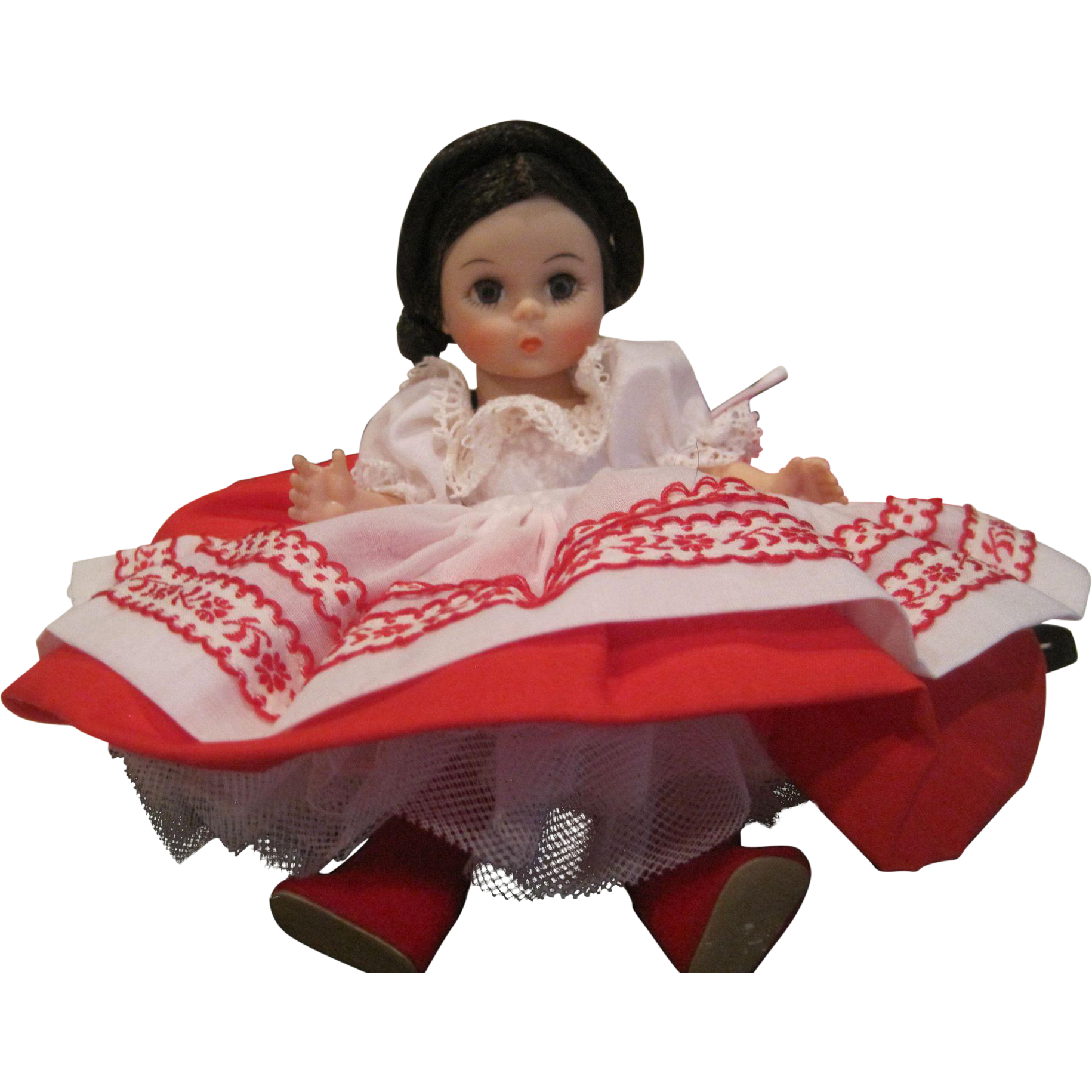 Vintage Madam Alexander miniature Russia 574 friends from foreign lands series