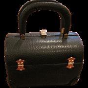 Vintage Tano of Madrid black black leather purse