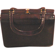 Vintage Tano brown leather purse