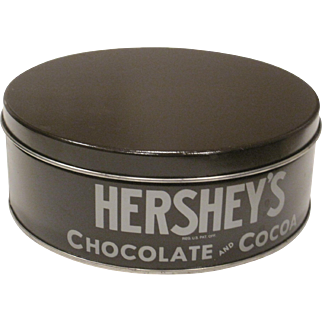 Vintage Hershey's Chocolate and Cocoa advertising tin